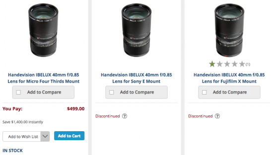 handevision-ibelux-40mm-f0-85-lens-listed-as-discontinued