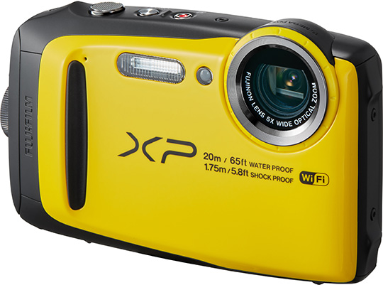 Fujifilm FinePix XP130 waterproof camera leaked online