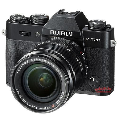 Leaked press photos of the Fuji X-T20, X100F cameras and Fujinon XF 50mm f/2 R WR lens
