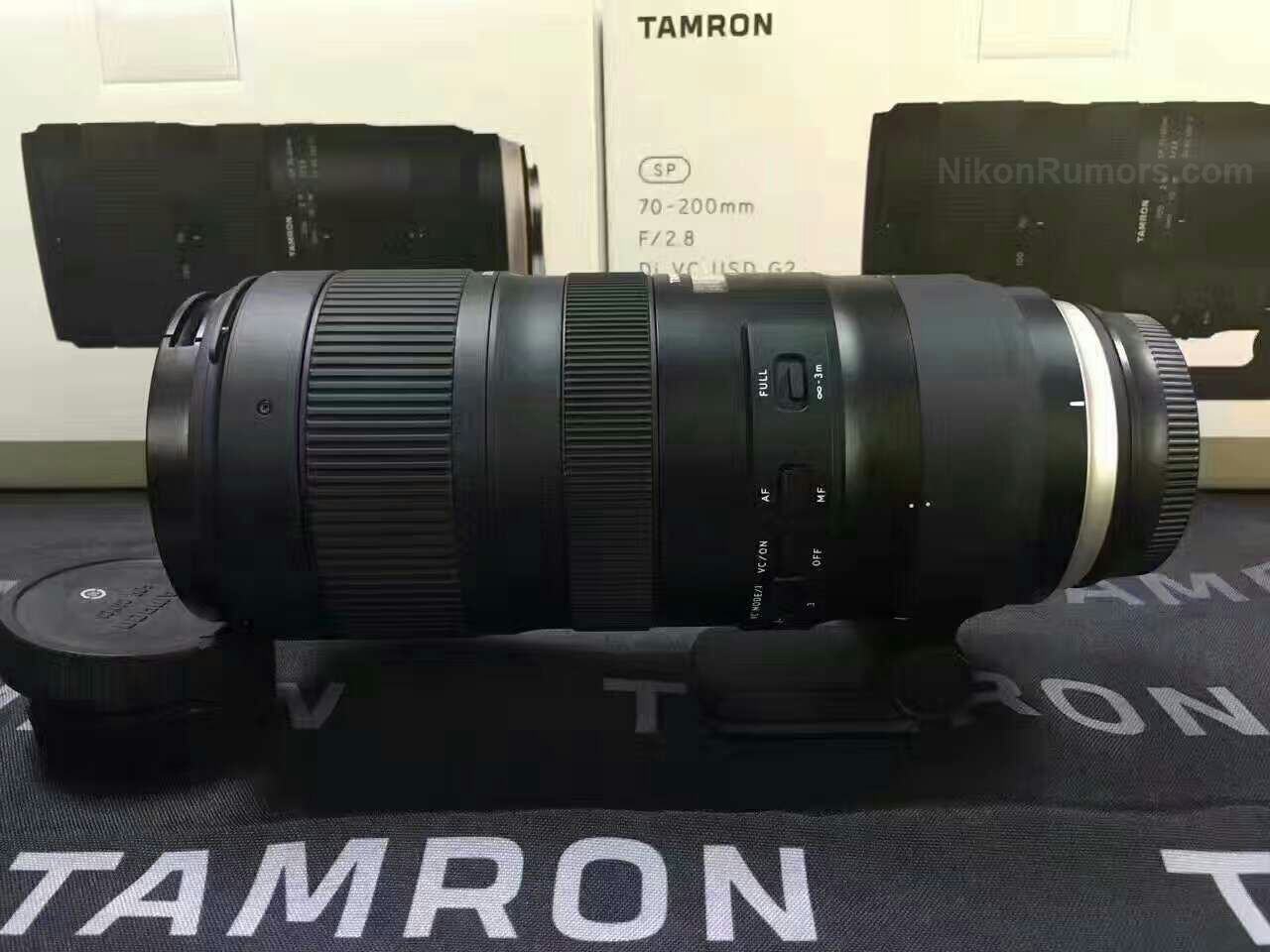 New Tamron Sp 70 200mm F 28 Di Vc Usd G2 Lens Rumored To Be For Canon 18 35 63 Iii Eos M A Is Announced Next Month During The Cp Show In Japan As Replacement Current