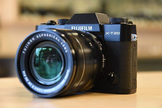 Fuji X-T20 camera and Fujinon XF 50mm f/2 R WR lens now shipping