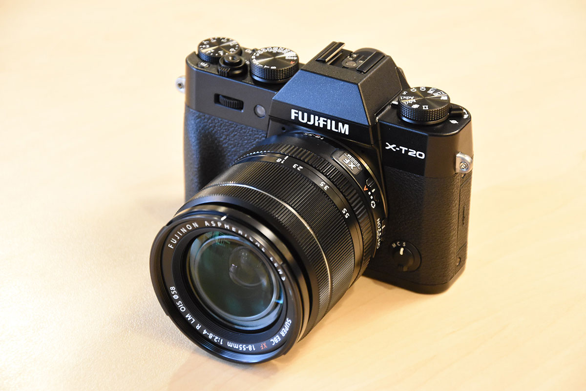 Fuji x t20 camera and fujinon xf 50mm f 2 r wr lens now for Camera camera