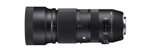 Sigma 100-400mm f/5-6.3 DG OS HSM Contemporary lens US pricing announced