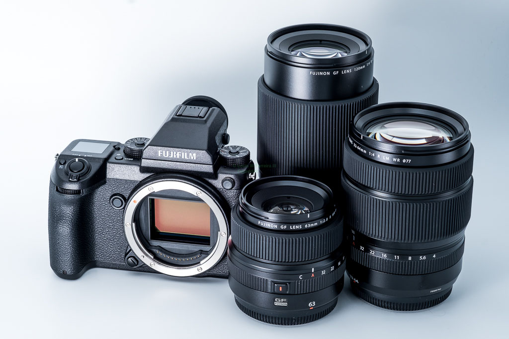 List of upcoming Fujifilm GF medium format lenses (6 new