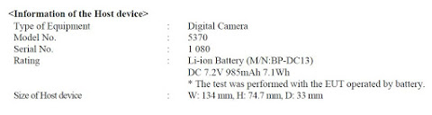 New Leica camera with code name 5370 registered with the FCC