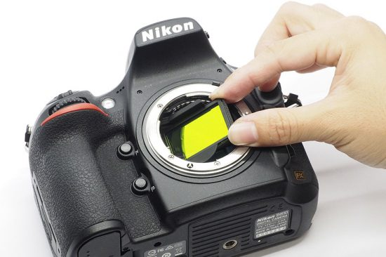 New: in-body clip-on ND filter and light pollution cut filter
