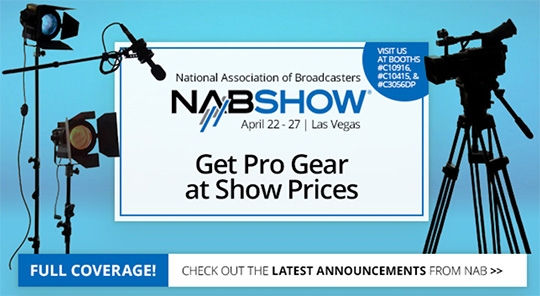 More NAB announcements