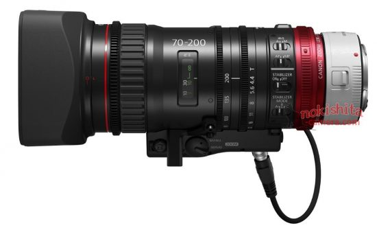 Canon CN-E 70-200mm cinema lens