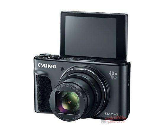 Canon PowerShot SX 730 HS camera leaked online