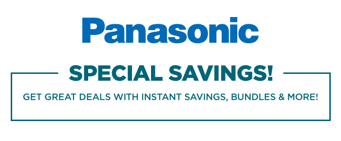 New Panasonic deals (with up to $300 free Adorama gift cards)