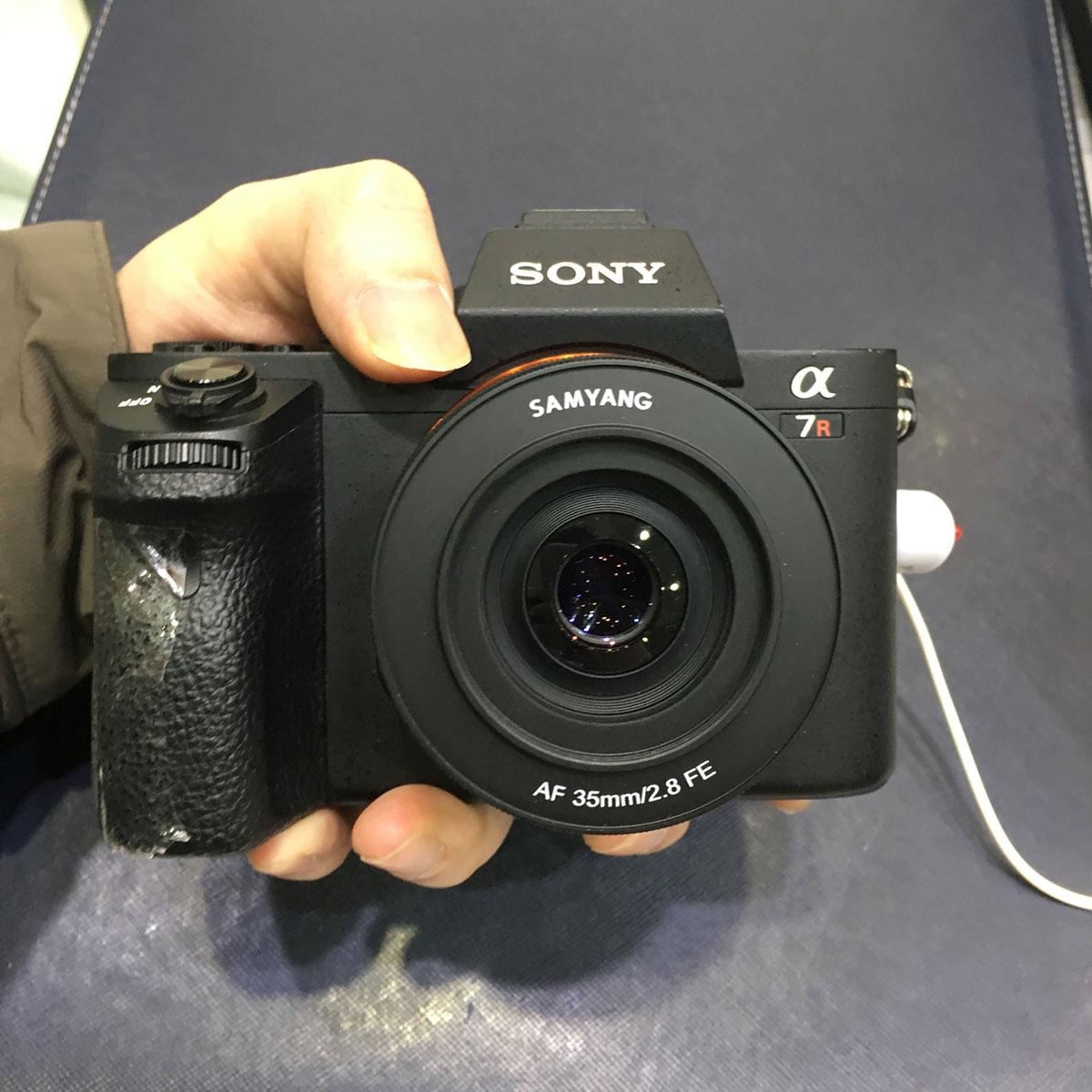 New Samyang AF 35mm f/2.8 FE lens coming soon (autofocus full frame ...