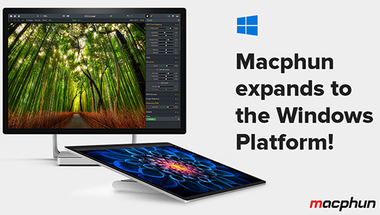 Windows version of Macphun Aurora HDR and Luminar photo editing software to be released soon