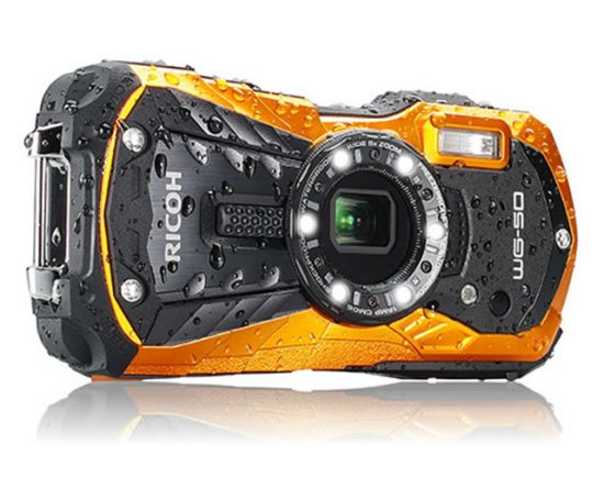 Ricoh WG-50 waterproof and shockproof camera announced