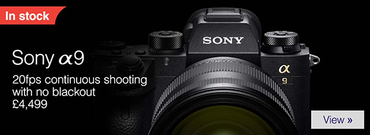 Sony a9 camera in stock everywhere