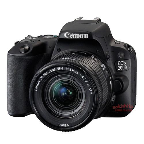 This Canon EOS 200D / Rebel SL2 DSLR camera will also be announced next week