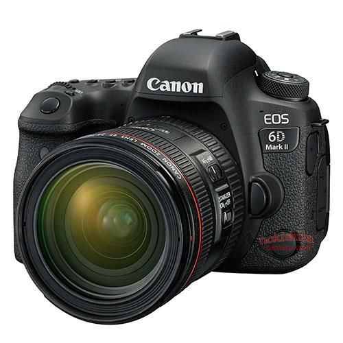 Additional specifications for the Canon EOS 6D Mark II DSLR camera