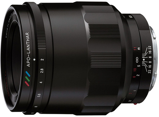 The new Voigtlander APO-Macro Lanthar 65mm f/2 Aspherical E-mount lens is now in stock