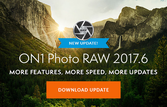 New: ON1 Photo RAW 2017.6 and Corel PaintShop Pro 2018