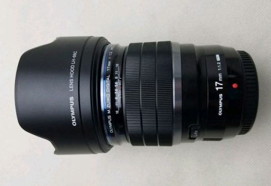 This is the new Olympus M.Zuiko Digital 17mm f/1.2 PRO lens