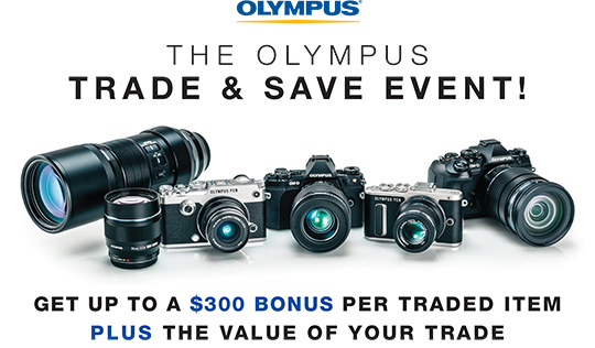 New Olympus rebates introduced in the US