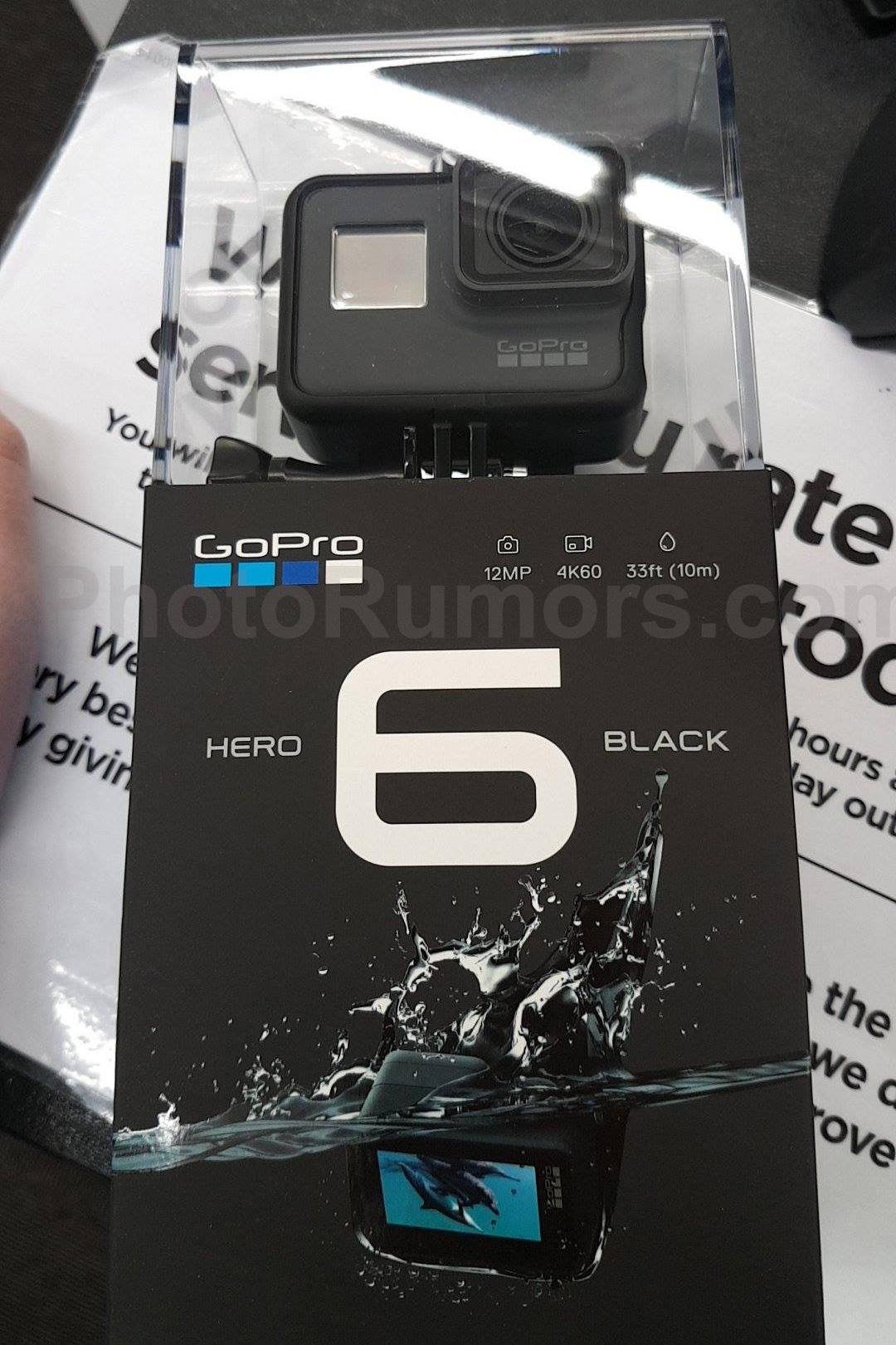 Some Additional Information On The Upcoming GoPro HERO 6 Black Camera Suggested Retail Price Incl VAT In Germany Will Be EUR569