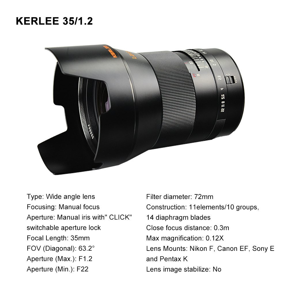 Kerlee 35mm f/1.2 full frame DSLR lens sample photos | Photo Rumors