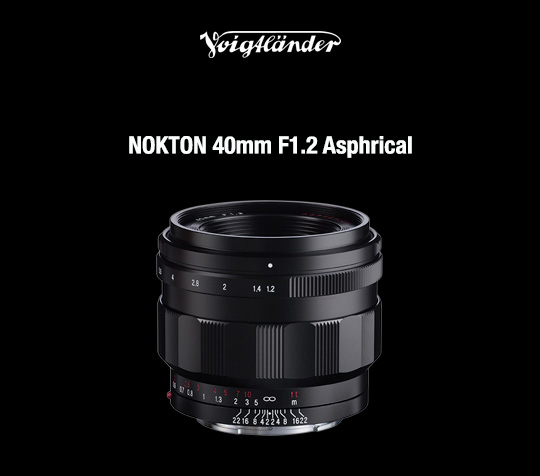 Voigtlander NOKTON 40mm f/1.2 Aspherical lens for E-mount: US pricing and first reviews