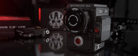 The new Red Monstro camera has 17 stops of dynamic range