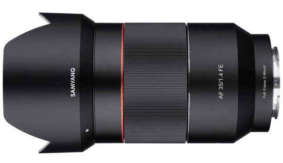 Samyang AF 35mm f/1.4 FE lens for Sony E-mount officially announced