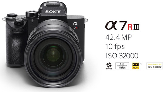 The Sony a7R III mirrorless camera is already $200 off