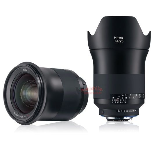 Zeiss to announce a new Milvus 1.4/25 lens