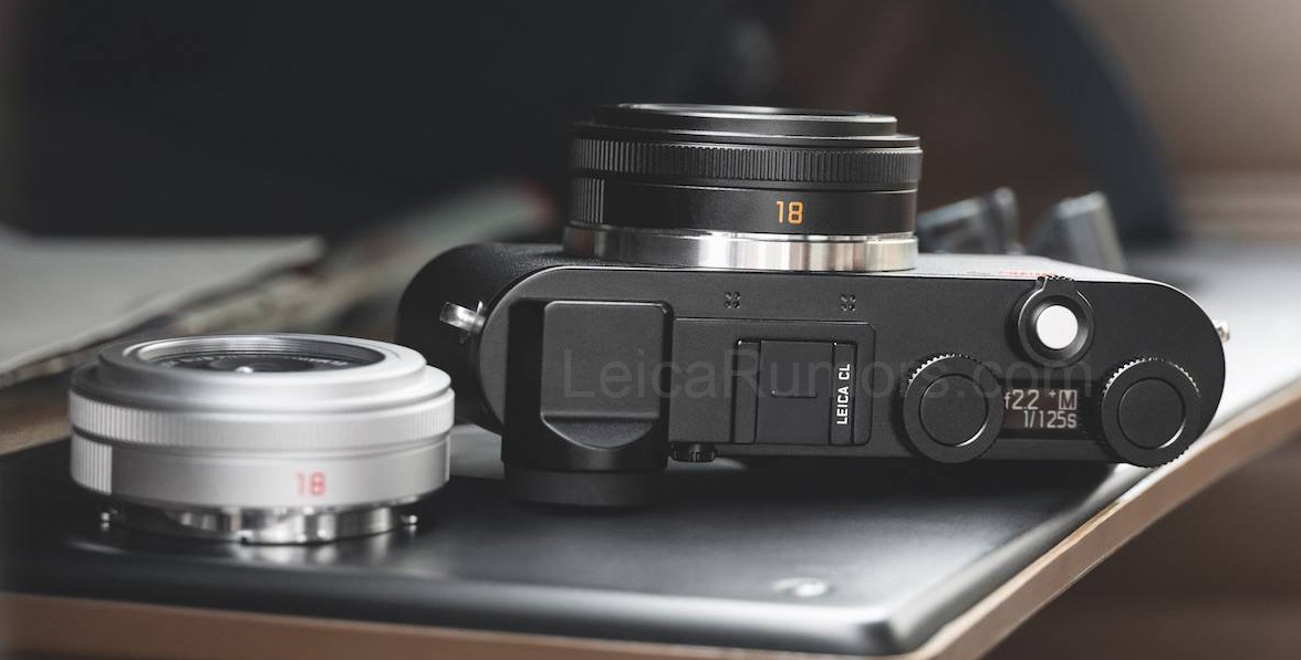This is the new Leica CL mirrorless camera and Elmarit-TL 18mm f/2.8 ASPH lens