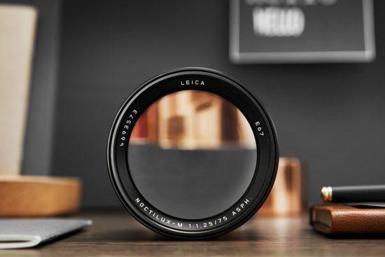 Leica announces a new 1kg/$12,795 Noctilux-M 75mm f/1.25 ASPH lens