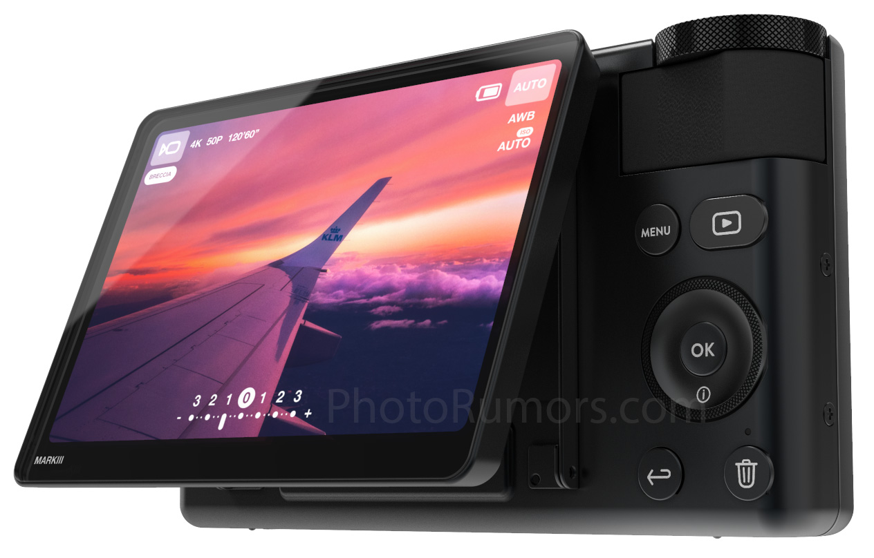 G7x Mark 2 >> Leaked pictures of the upcoming Canon G7X Mark III camera - Photo Rumors