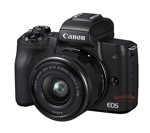Picture ands specifications of the Canon EOS M50 mirrorless camera
