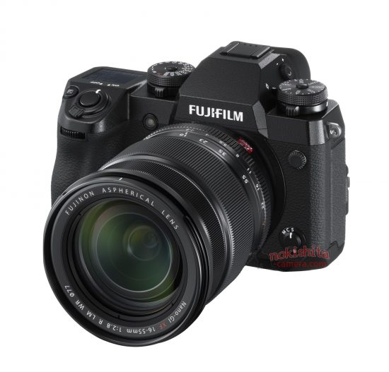 Here are the first pictures of the upcoming Fuji X-H1 camera