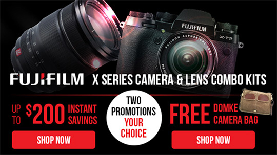 Fujifilm US and UK deals & savings