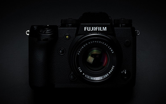 Yes, the Fujifilm X-H1 camera has been discontinued for a while