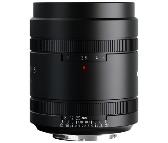 New Meyer Optik Somnium 85mm f/1. 5 II lens