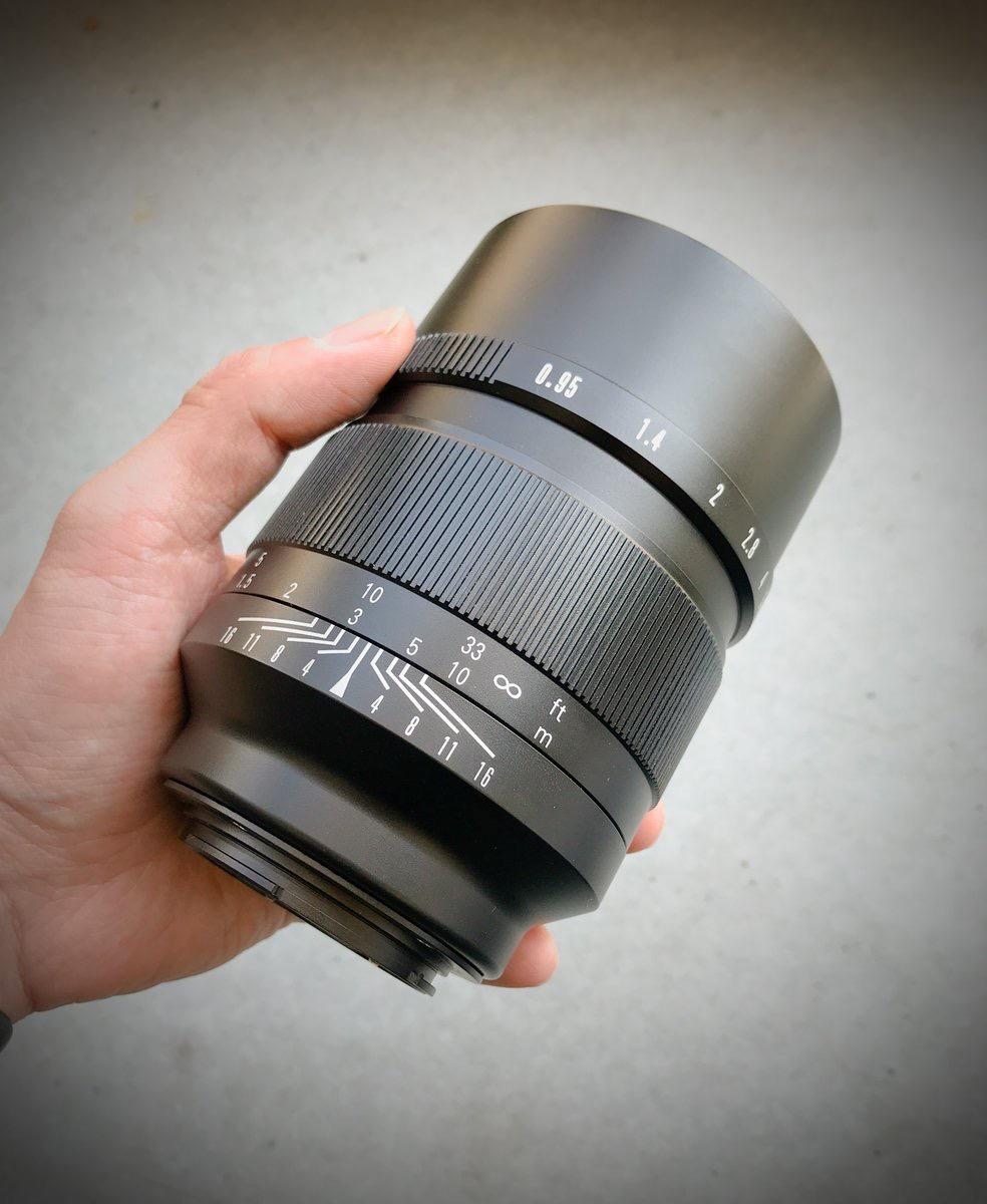New Mitakon Zhongyi Speedmaster 50mm F 0 95 Lens For Canon