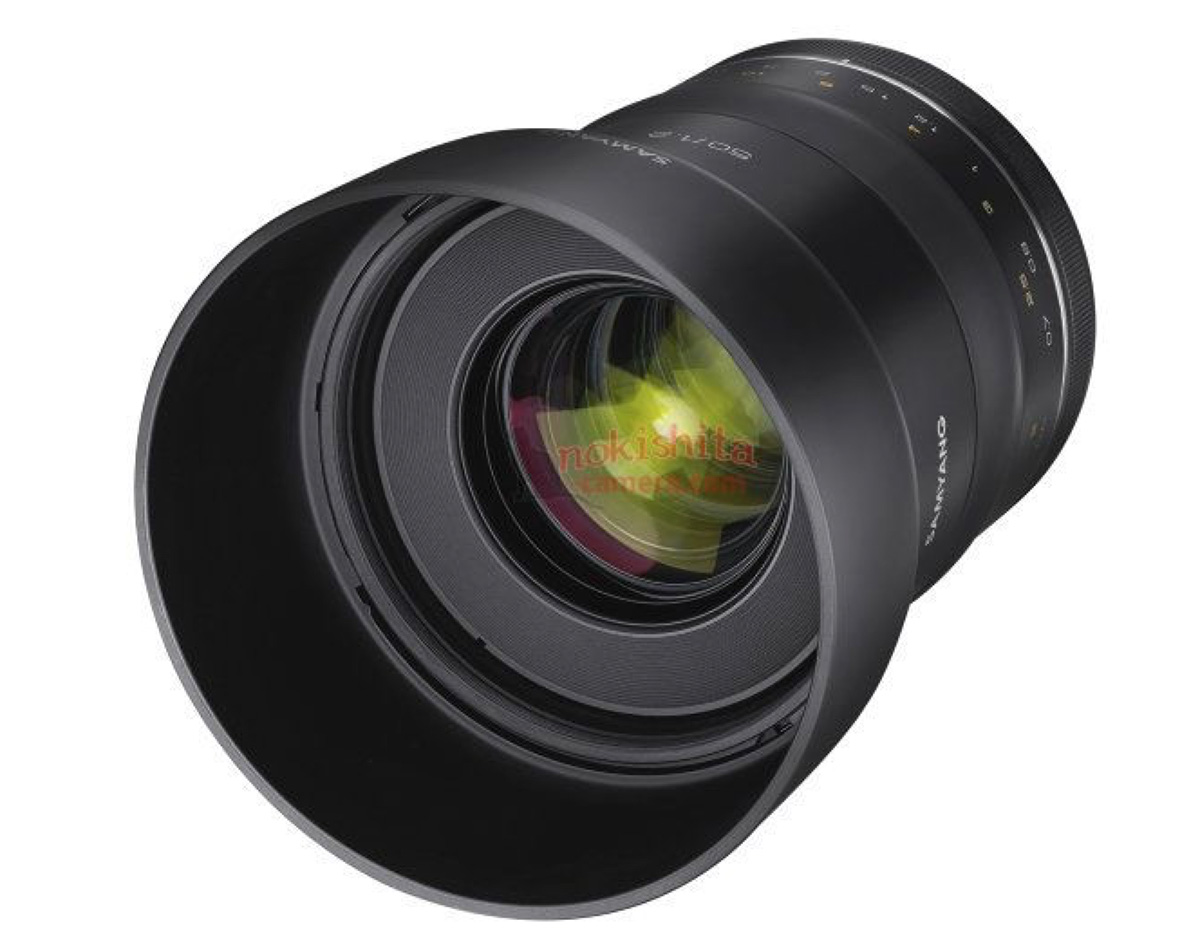 first pictures of the samyang xp 50mm f 1 2 lens photo rumors. Black Bedroom Furniture Sets. Home Design Ideas