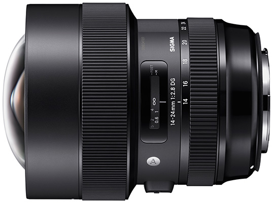 Sigma 14-24mm f/2.8 Art lens announced