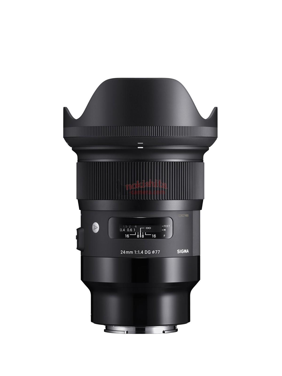 Sigma to announces 9 new full frame lenses for Sony E-mount   Photo ...
