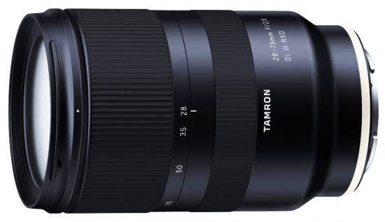 Tamron cannot deliver the 28-75mm f/2.8 Di III RXD lens on time due to high demand