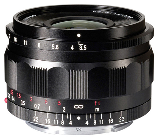 Voigtlander 21mm f/3.5 and 110mm f/2.5 lenses for Sony E-mount now available for pre-order