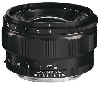 US price of the Voigtlander Nokton Classic 35mm f/1.4 FE lens for Sony E-mount: $799