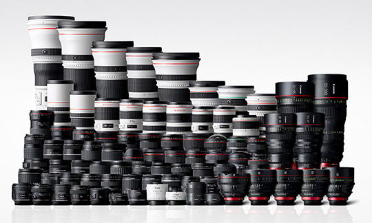 Canon is revising down their profit forecast by 20% due to weak camera sales, new mirrorless lenses coming after summer