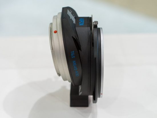 Kipon tilt shift lens adapter for Hasselblad X1D