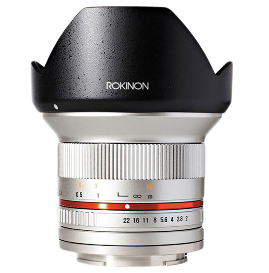 Deal of the day: save $125 on the Rokinon 12mm f/2 mirrorless lens (32% off)