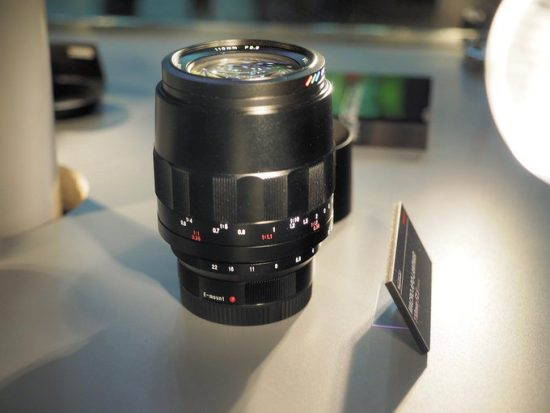 Voigtlander Macro APO Lanthar 110mm f/2.5 lens for Sony E-mount update